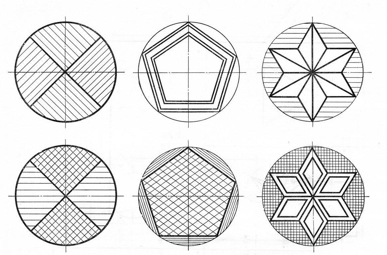 архитектурный картинки в окружности по черчению шторы или другие
