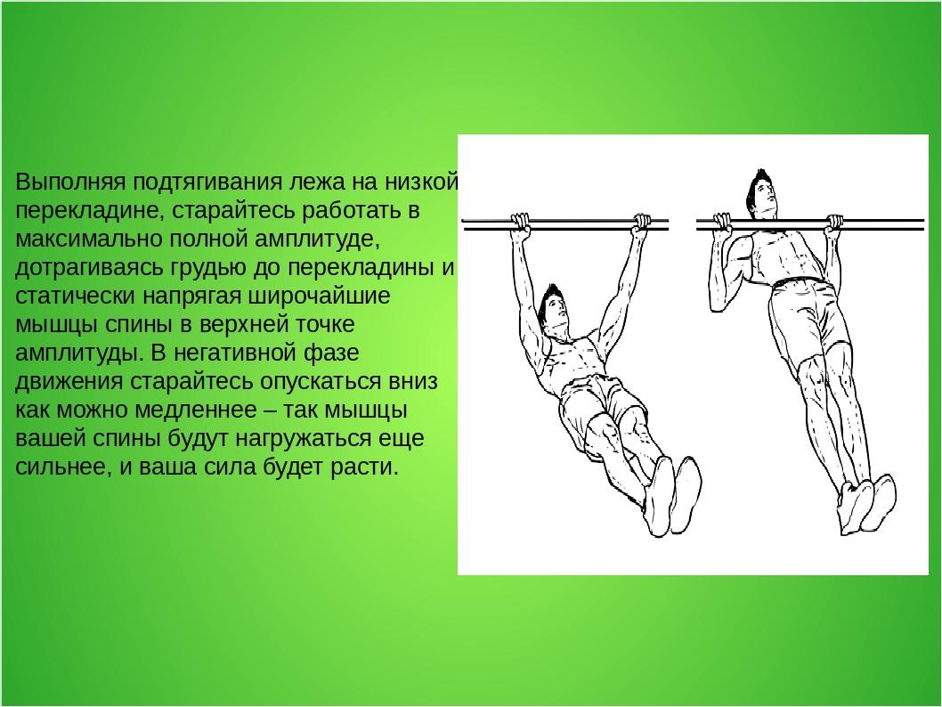 Картинки подтягивание в висе на перекладине
