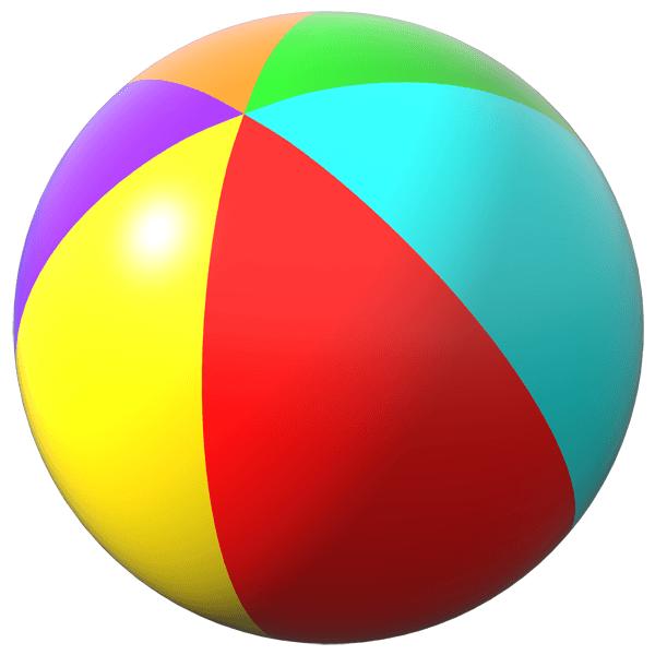 Картинка детям мяч