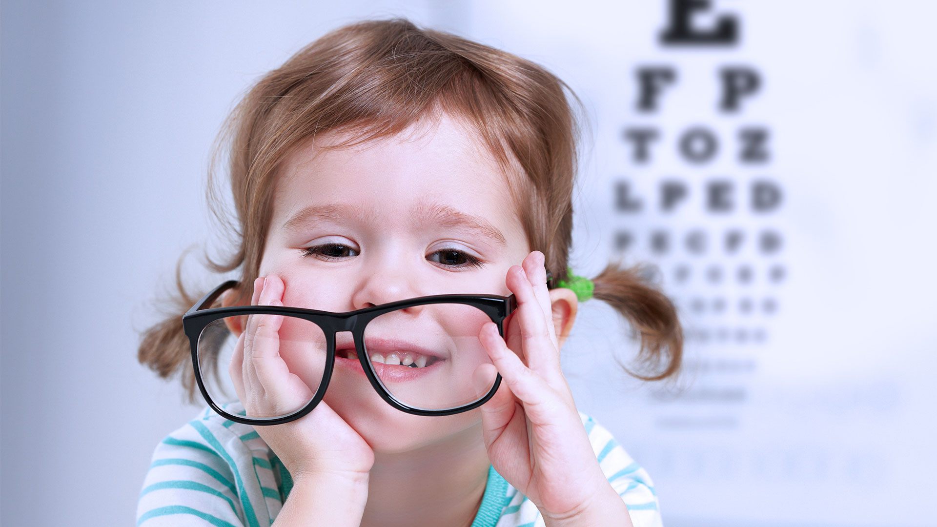 Детские картинки про зрение