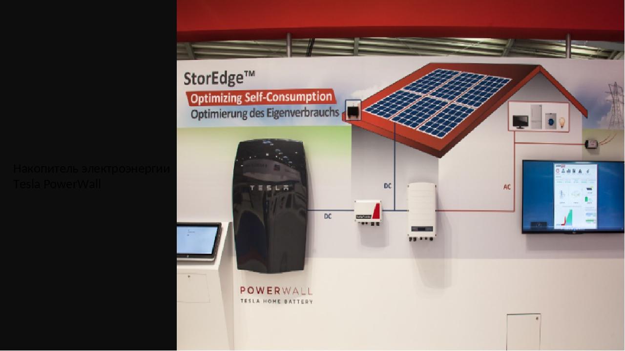 Накопитель электроэнергии Tesla PowerWall