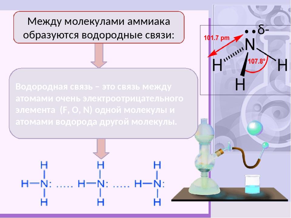 Ц Физические свойства Ткип = -33,50С Тпл = -780С 3-10% р-р - нашатырный спирт...