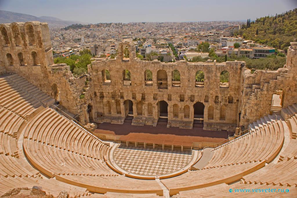 Картинка античных театров