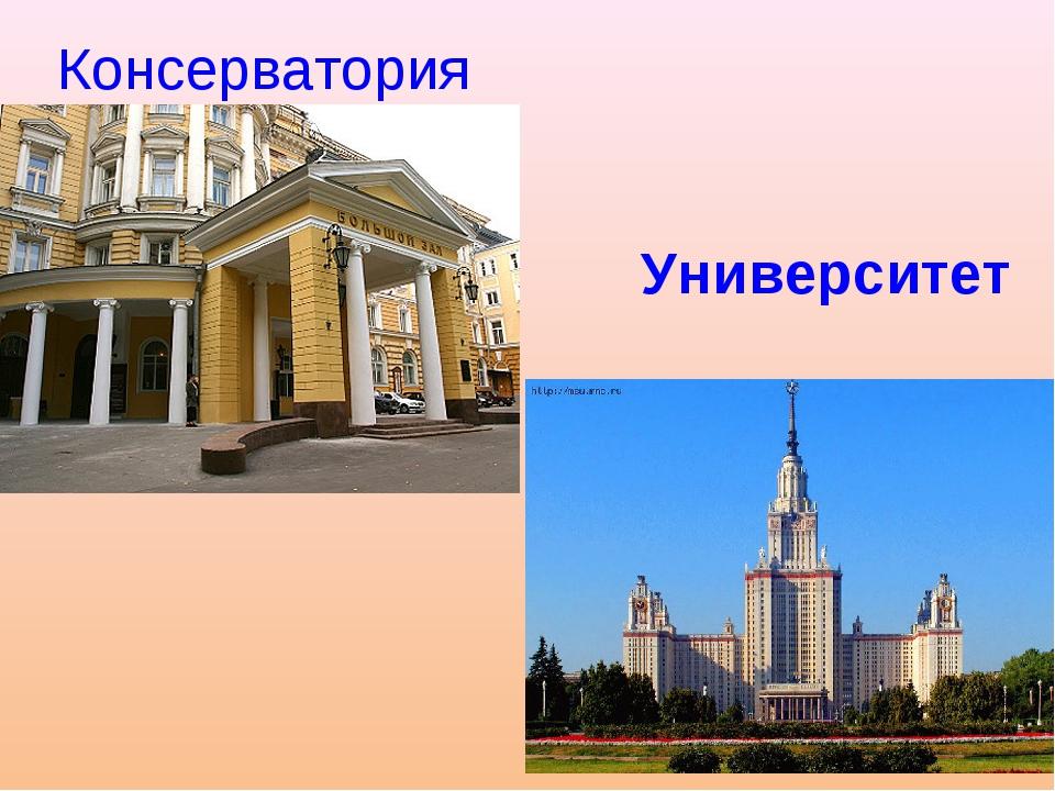Консерватория Университет