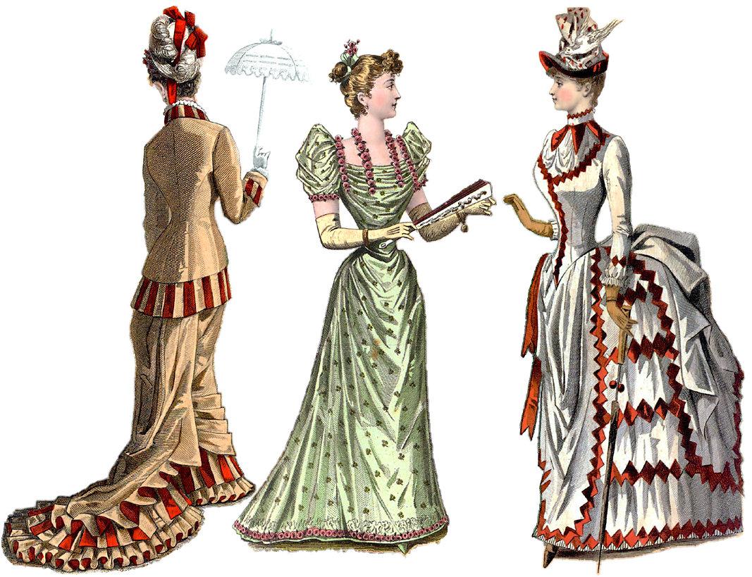 Одежда всех веков картинки