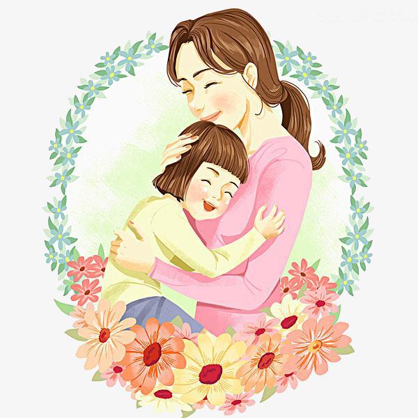 Картинка любящей мамы