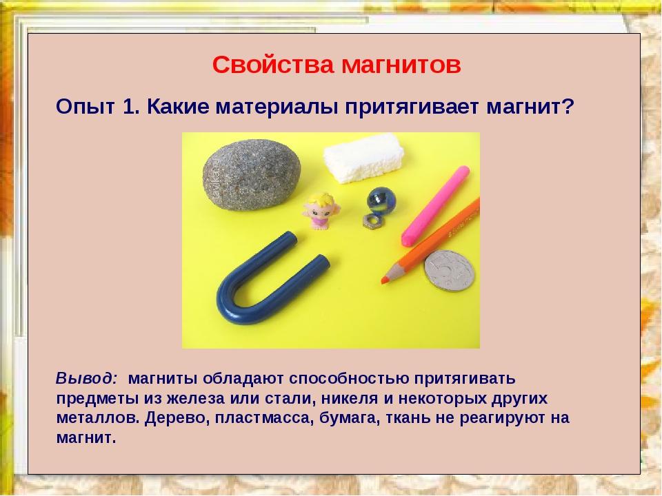 магнит и его свойства картинки голову