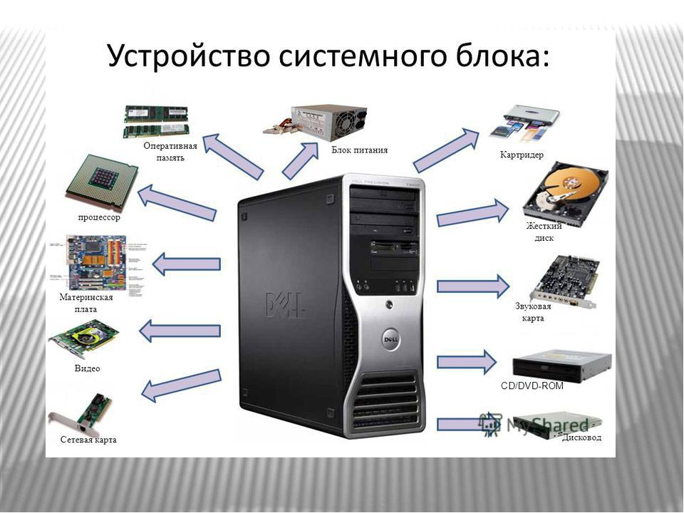 Устройство компьютера процессор фото