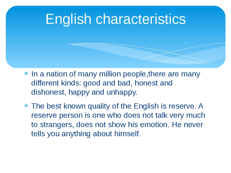 In a nation of many million people,there are many different kinds: good and b...