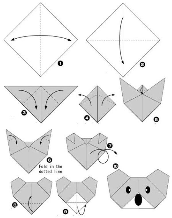Какие можно сделать картинки из бумаги