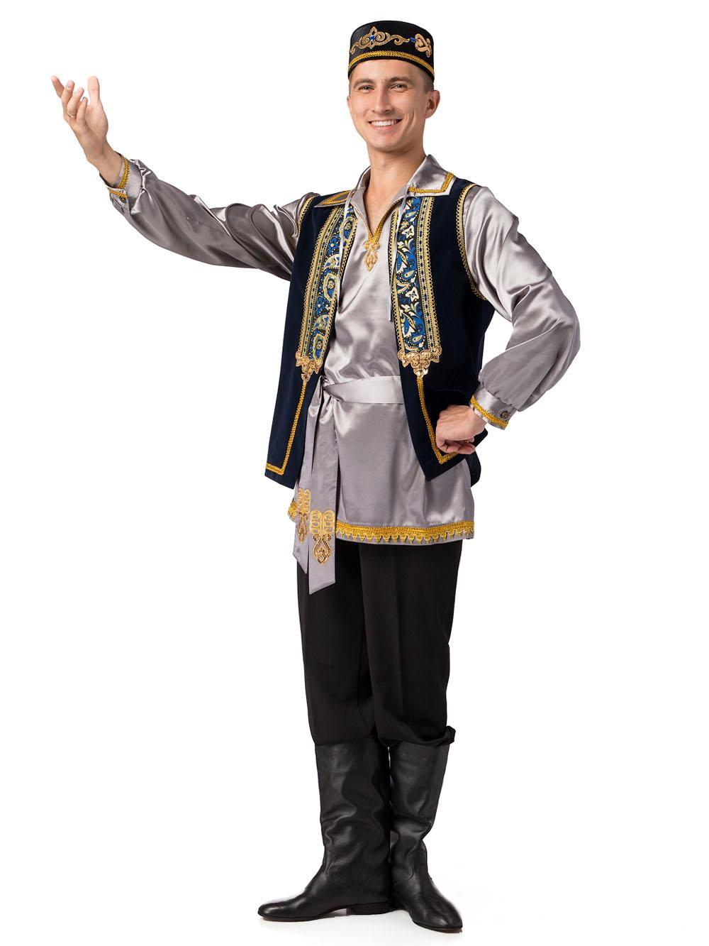 татарский национальный костюм мужской и женский картинки материал
