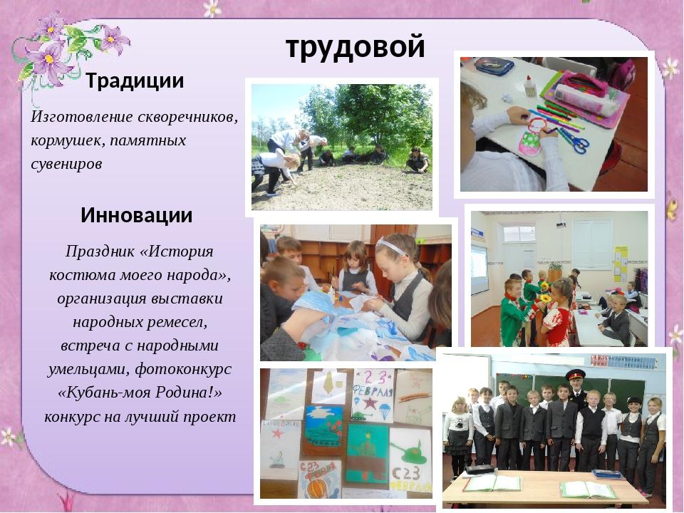 трудовой Традиции Изготовление скворечников, кормушек, памятных сувениров Инн...