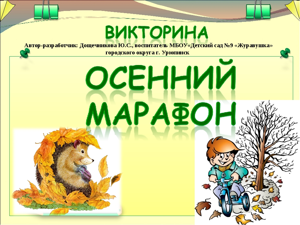 Автор-разработчик: Дощечникова Ю.С., воспитатель МБОУ«Детский сад №9 «Журавуш...