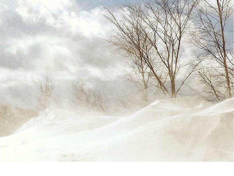 Картинка бури зимой