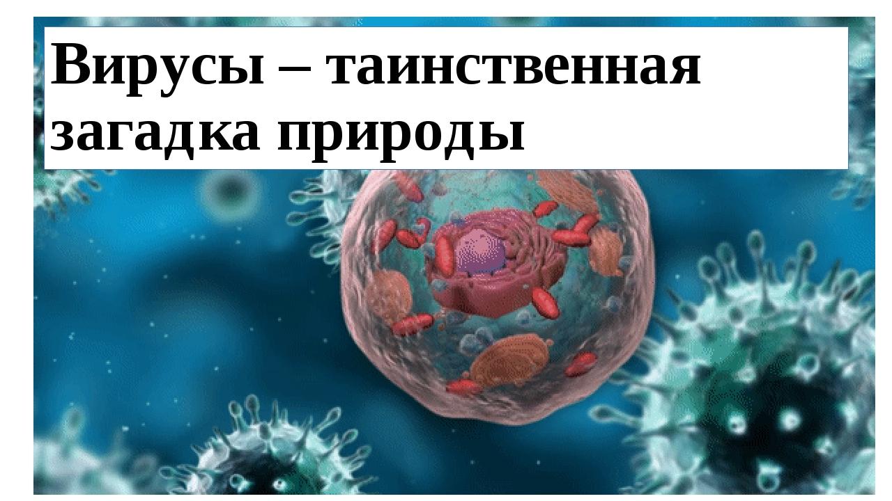 Вирусы – таинственная загадка природы