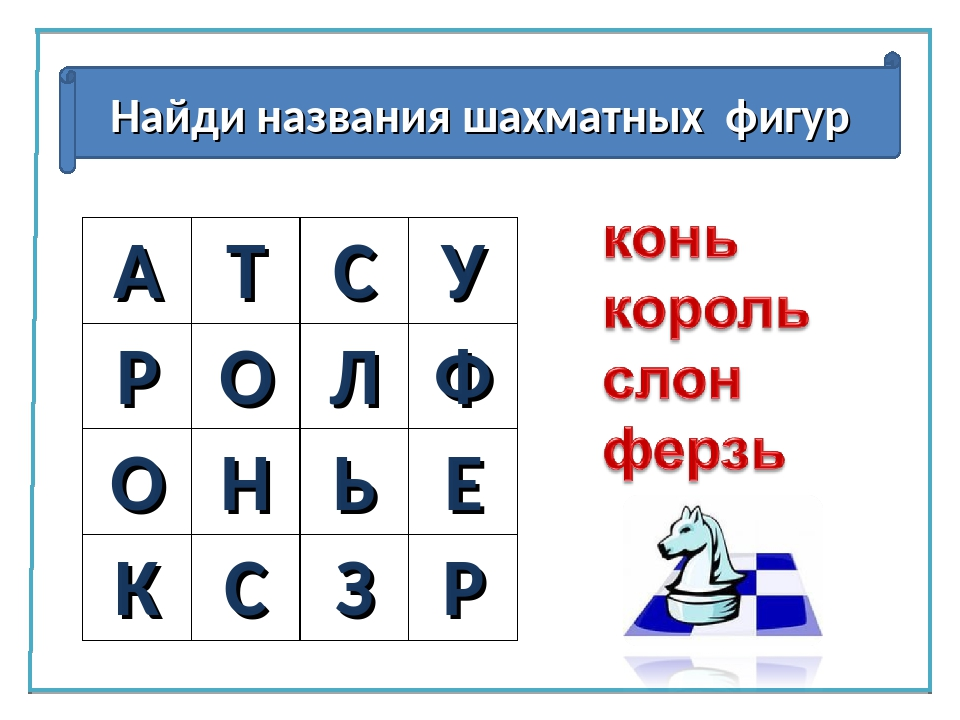 Ребус шахматы картинка