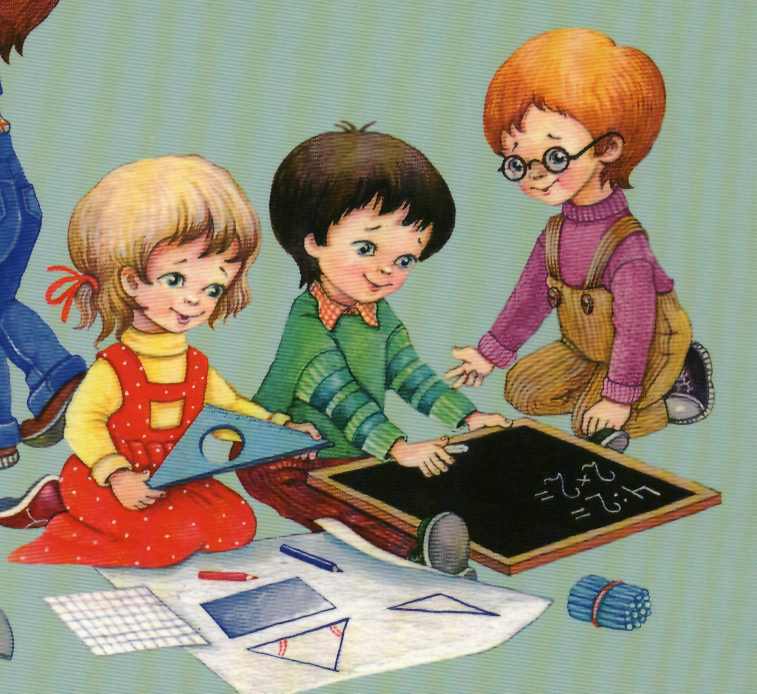 Картинки занятия математикой в детском саду