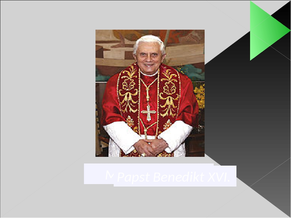 Martin Luther Papst Benedikt XVI.