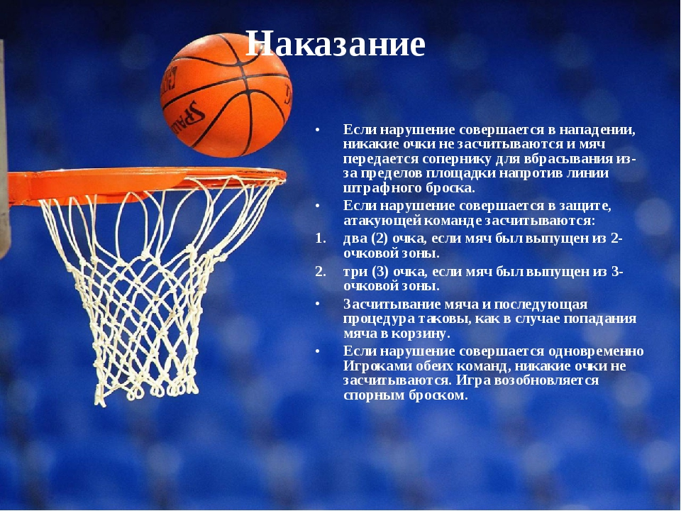 описание баскетбола по картинке площадки