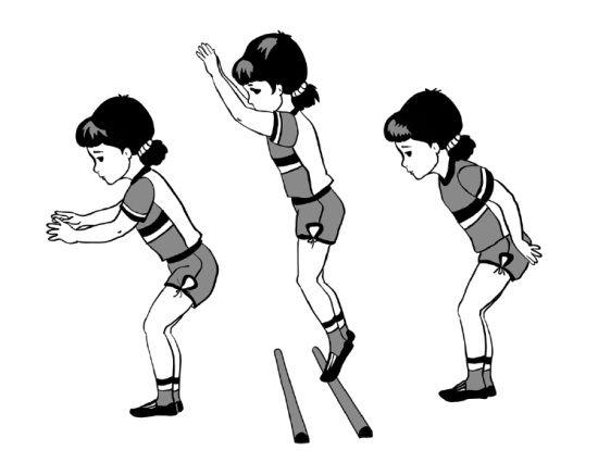 Картинки движений по физкультуре