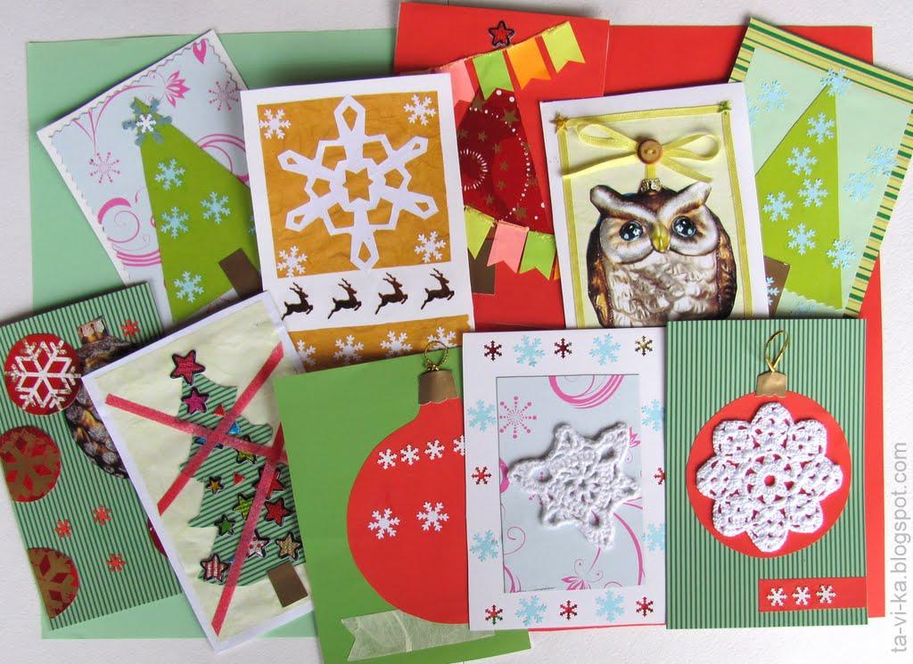 как сделать мини открытки на новый год подебрадах частных гидов