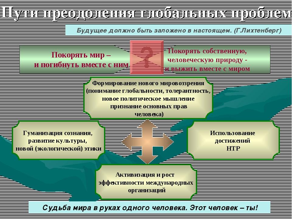 Гуманизация сознания, развитие культуры, новой (экологической) этики Активиз...