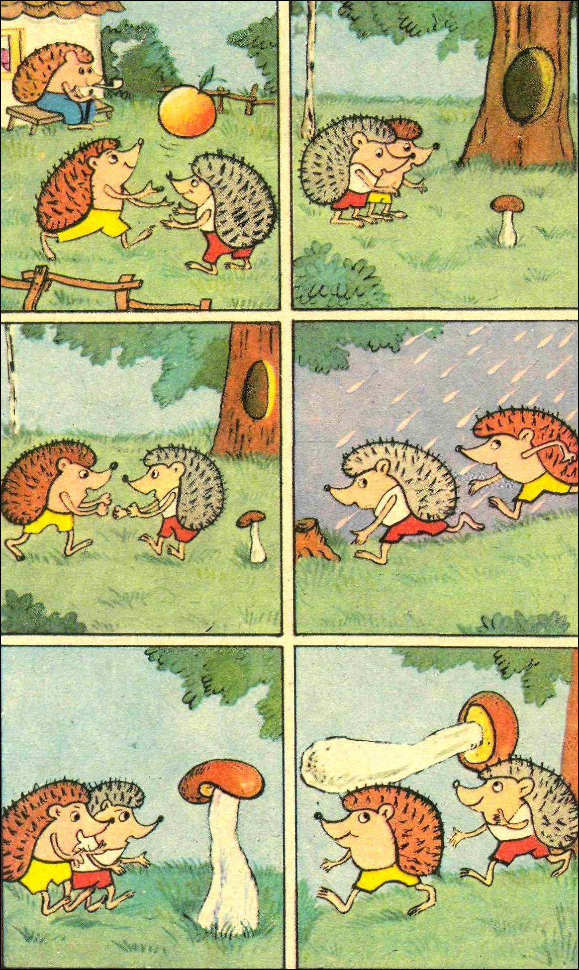 Составить рассказ по картинкам на логику