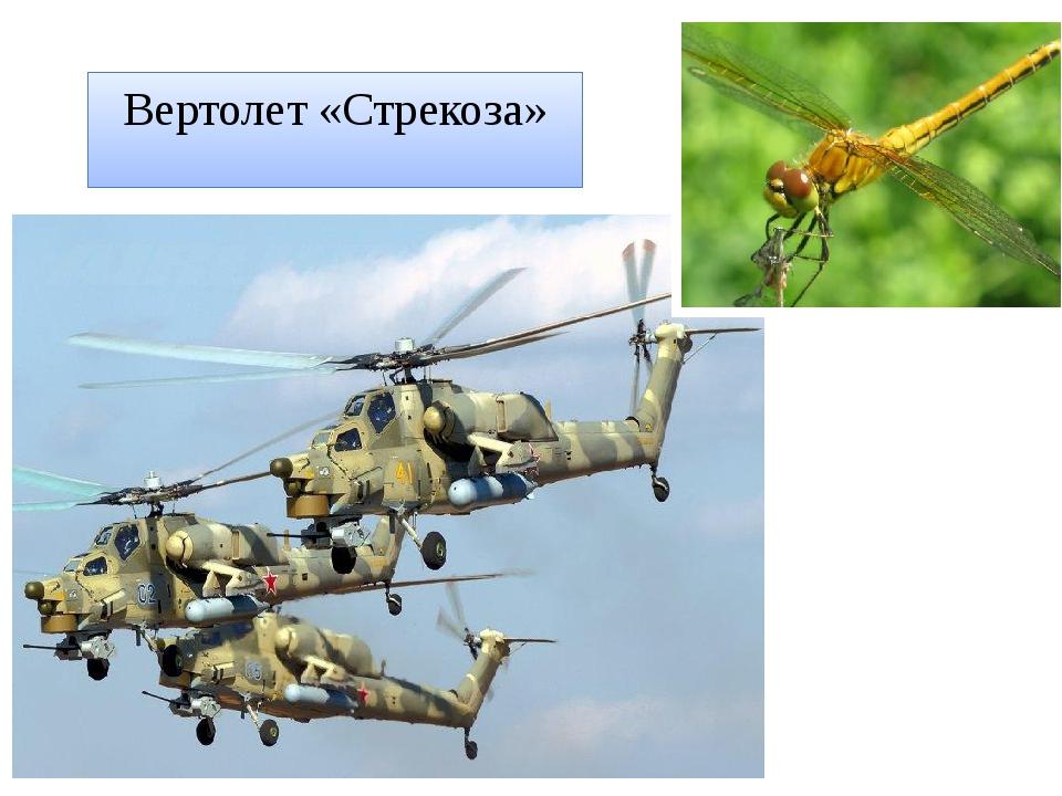 Вертолет «Стрекоза»