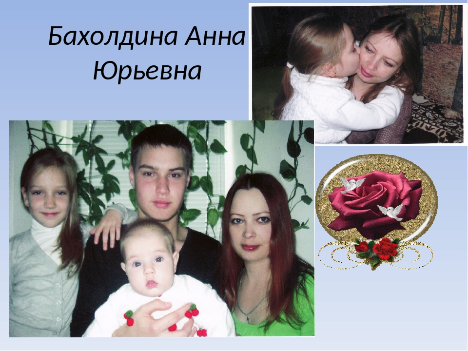 Бахолдина Анна Юрьевна