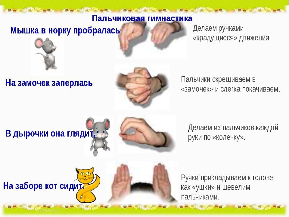 Пальчиковая гимнастика для родителей в картинках