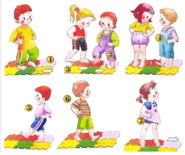 упражнения в картинках для малышей своего выступления фестивале