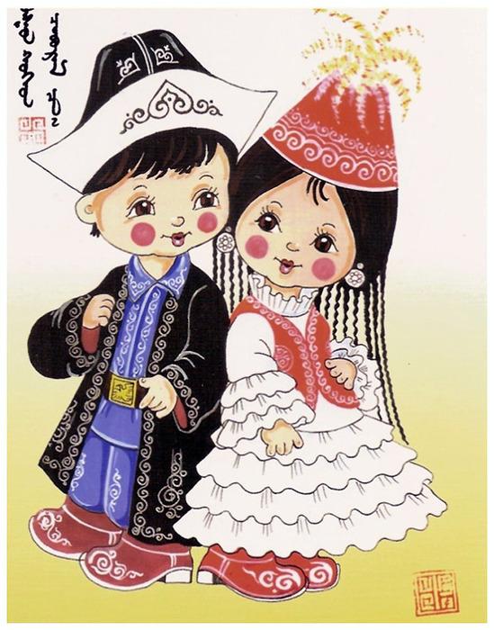 Башкирские открытки, открытка юбилей