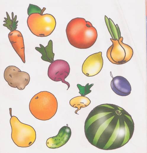 этой ознакомление с овощами фруктами в картинках животном мире