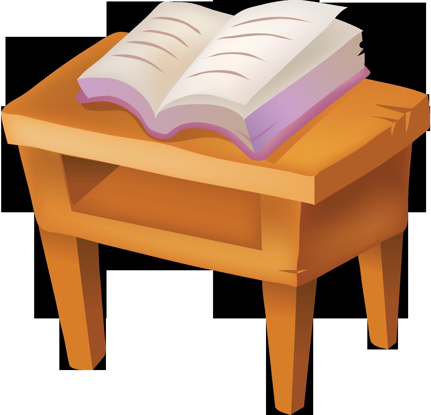 Картинки для детей книги на столе