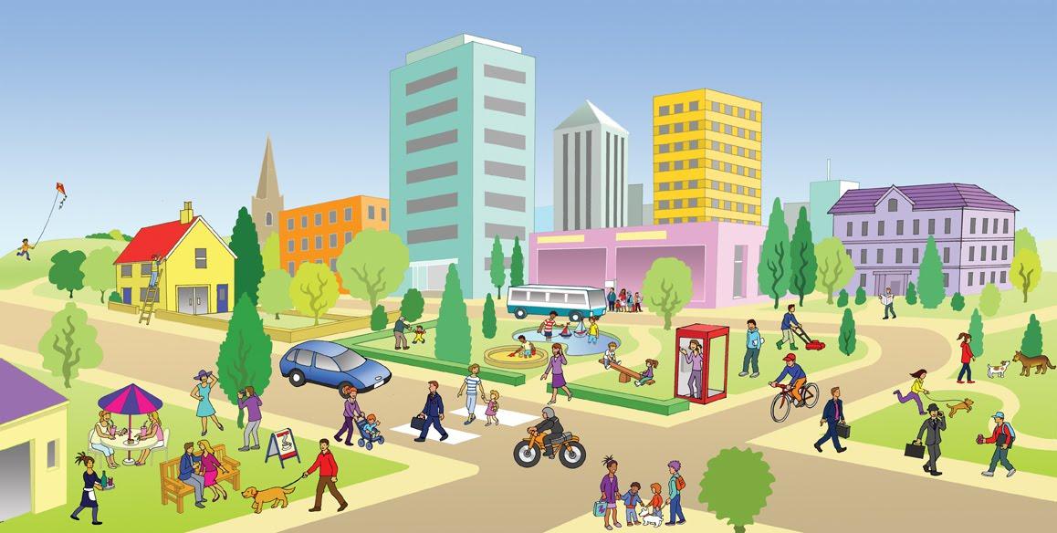 Картинки улица для детского сада