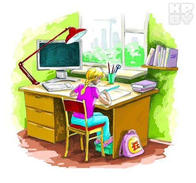 Офис картинки для детей