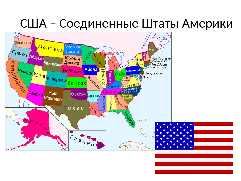 США – Соединенные Штаты Америки