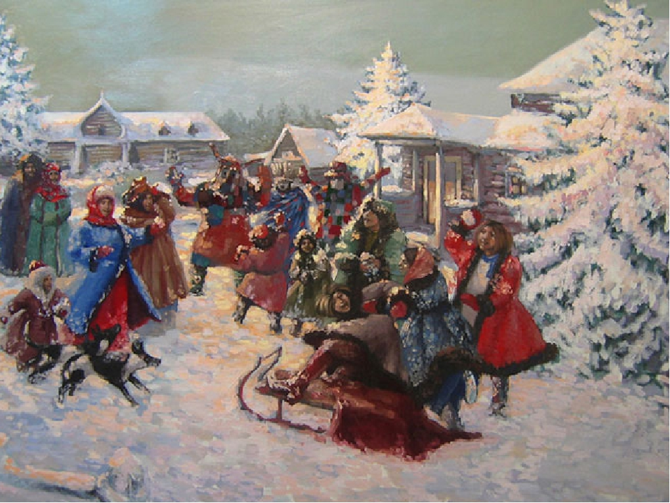 Christmas festivities and games And of course, in the old days at Christmas a...