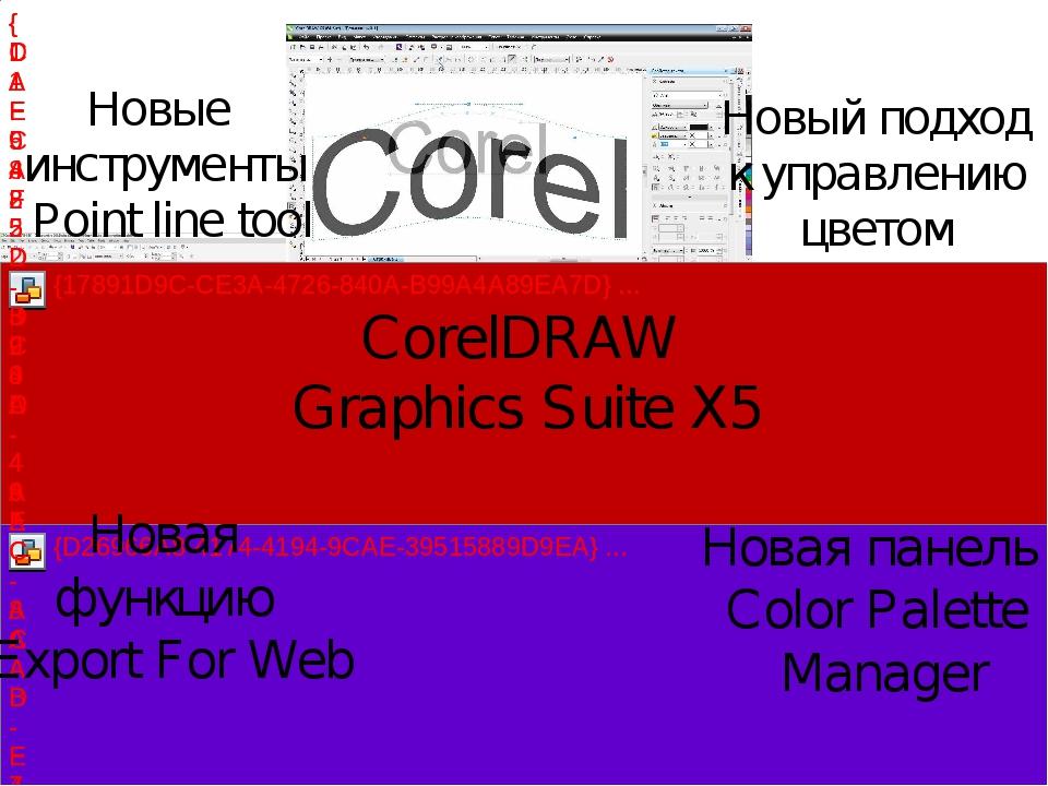 Новые инструменты Point line tool Новая функцию Export For Web CorelDRAW Gra...