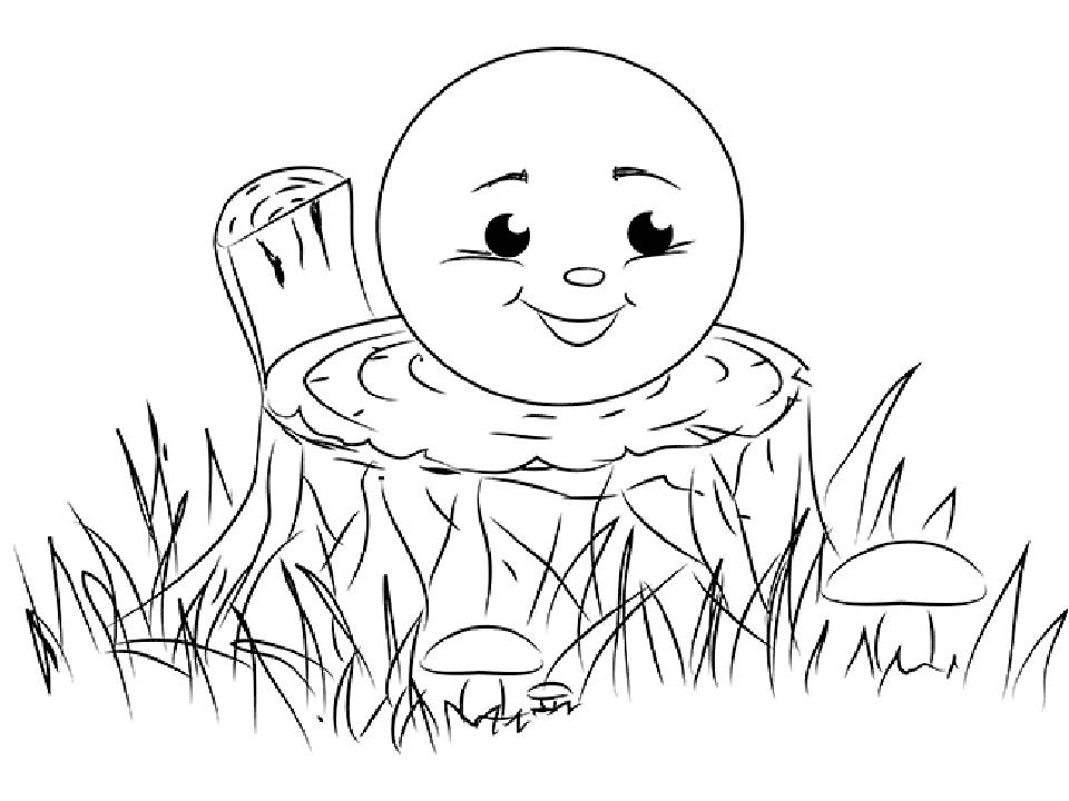 Иллюстрации к сказке колобок поэтапно когда отдыхающим