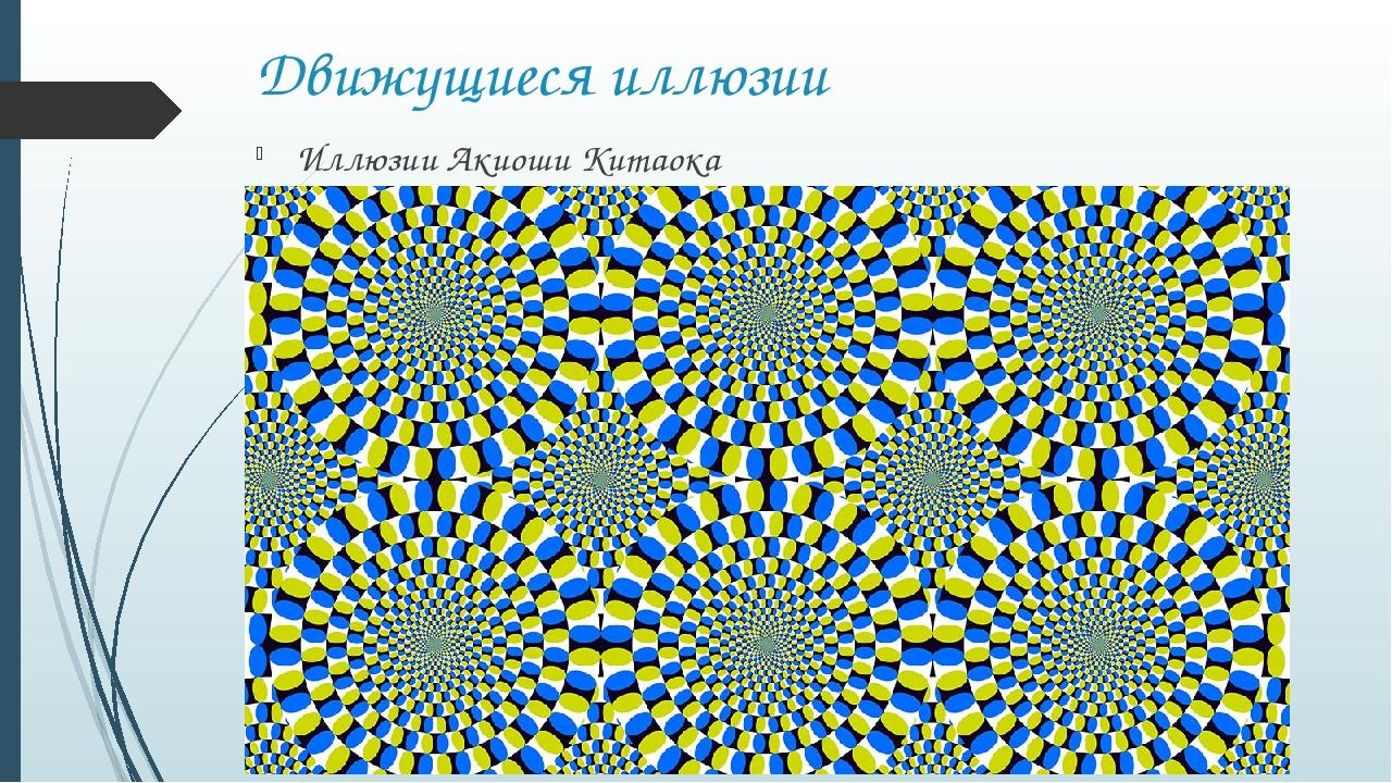 Движущиеся иллюзии Иллюзии Акиоши Китаока