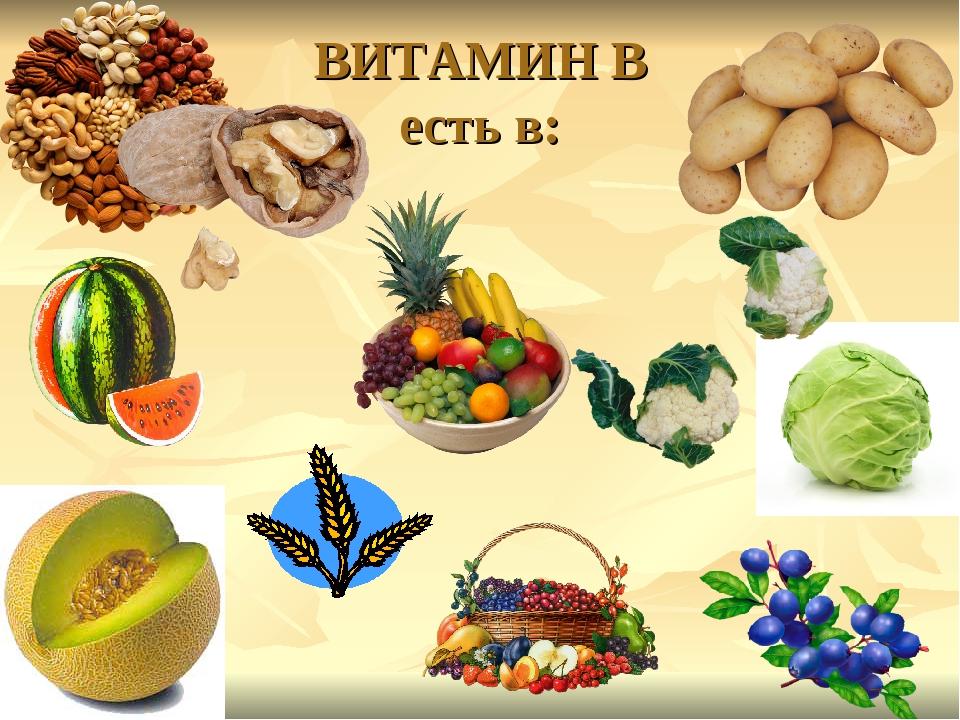 картинки с продуктами содержащими витамины состоит только