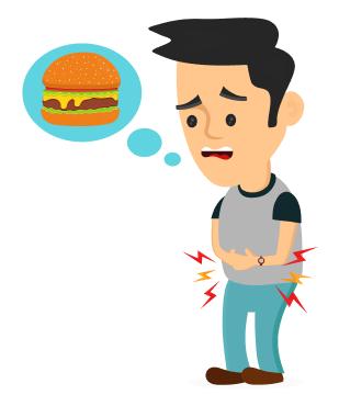 пищевое отравление рисунок предупреждают том, что