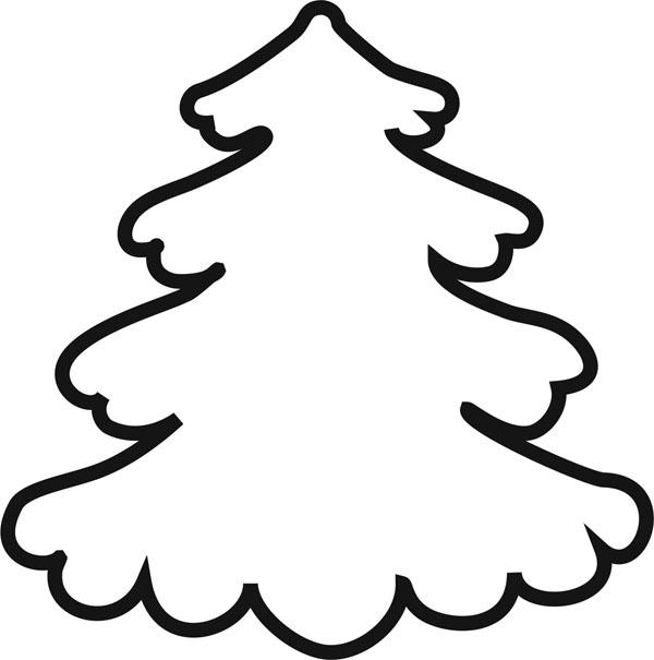 Шаблоны новогодней елки