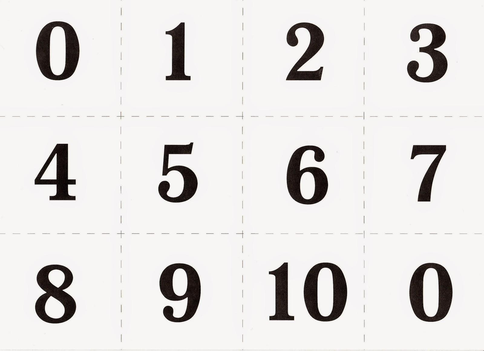 цифры русский картинки для печати