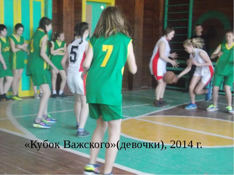 «Кубок Важского»(девочки), 2014 г.