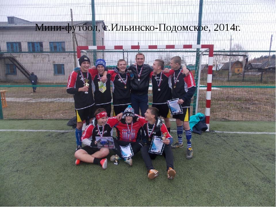 Мини-футбол, с.Ильинско-Подомское, 2014г.