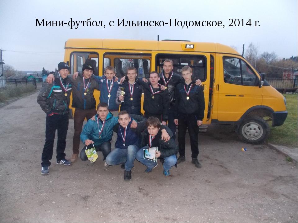 Мини-футбол, с Ильинско-Подомское, 2014 г.