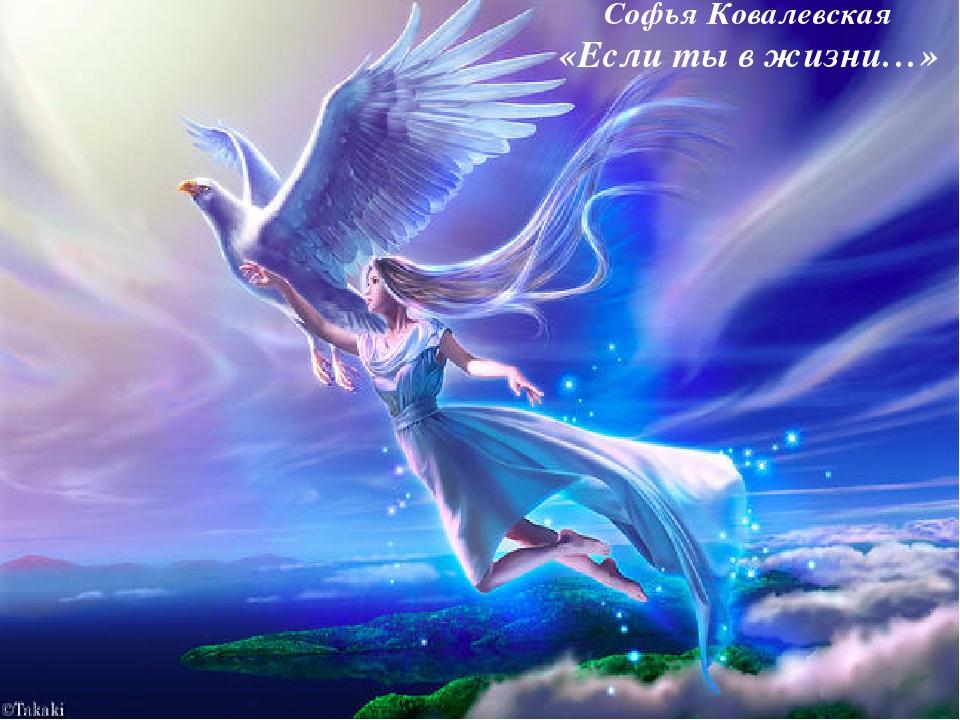Софья Ковалевская «Если ты в жизни…»