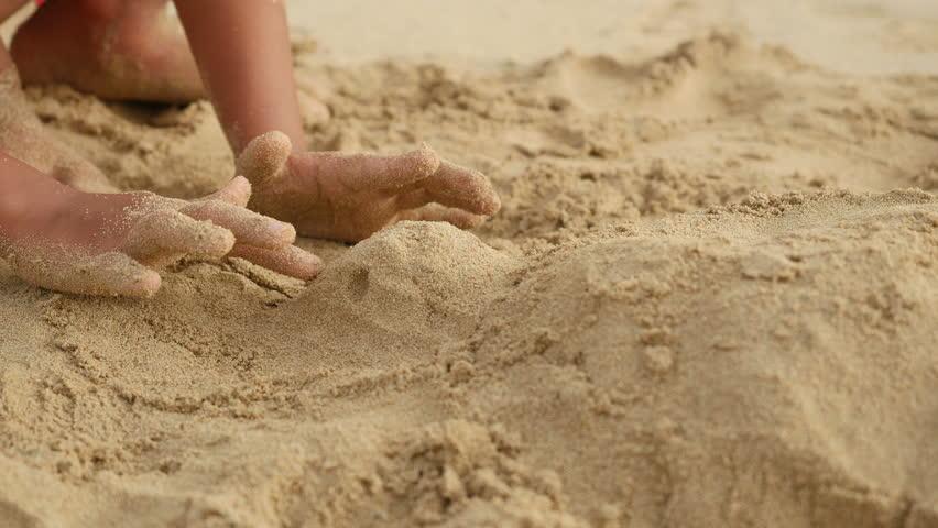 Пересыпающаяся картинка из песка